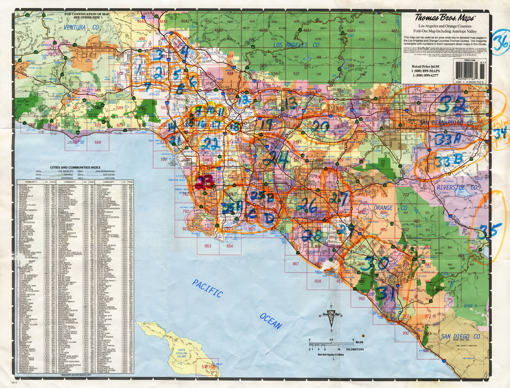 JEMM Distribution - Los angeles map westwood